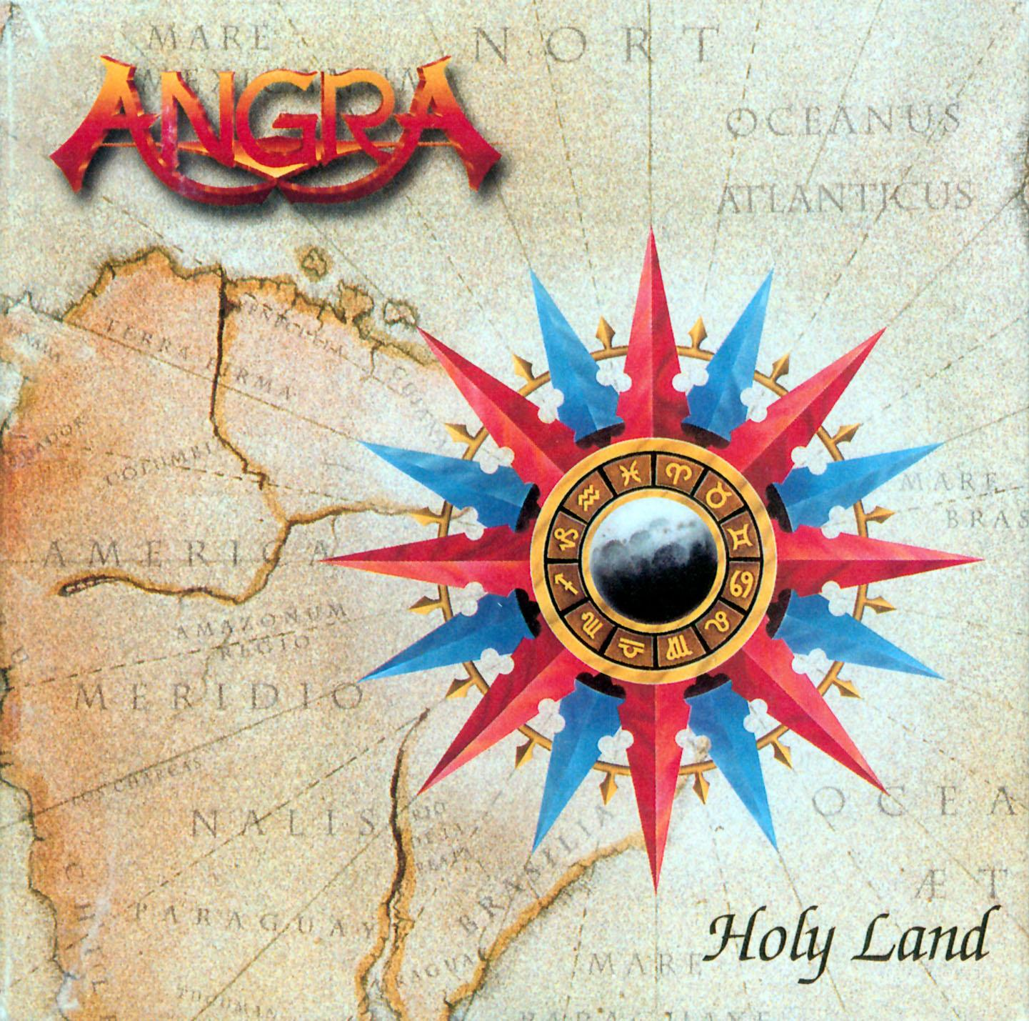 Progressive Metal Angra-holy-land-front-wallpaper