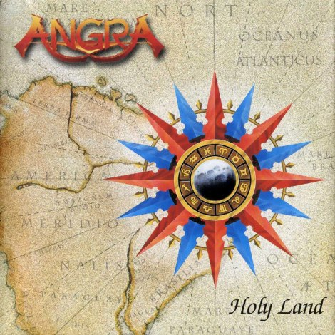 Angra - Holy Land (Japan) - Front