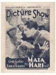 picture show outubro de 1932 com greta garbo e ramon navarro