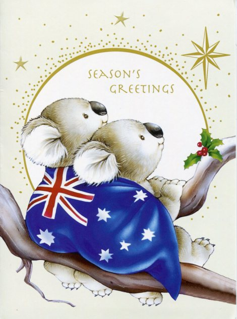 australia-christmas-card.koala.holly