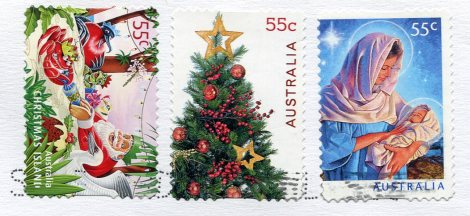 australia-christmas-card-stamps