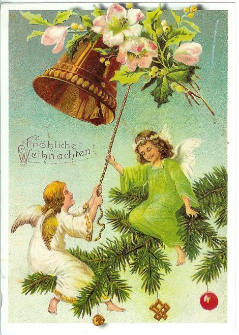 germany-christmas-card.Fröhliche Weihnachten