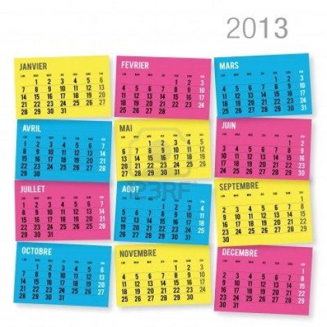 14367648-2013-kalender-in-het-frans