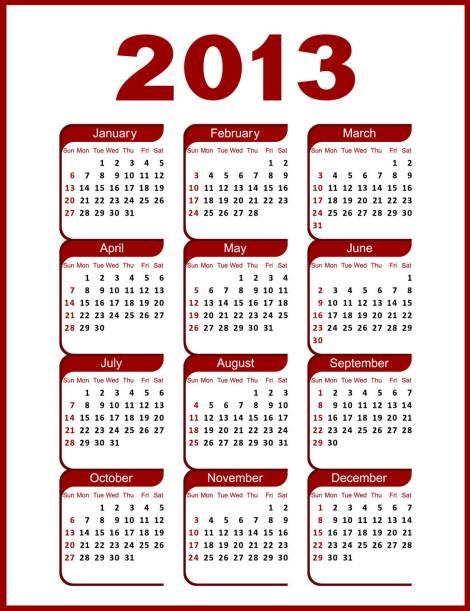 2013-Calendar.plain