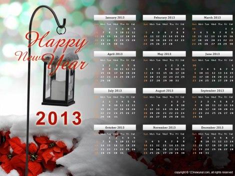 2013-calendar-template