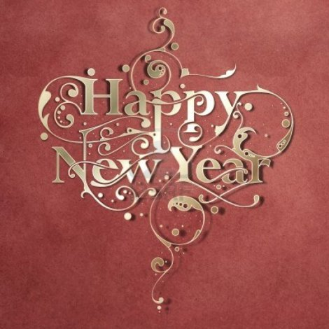 beautiful-hand-made-ornamental-typography-happy-new-year-on-paper-background