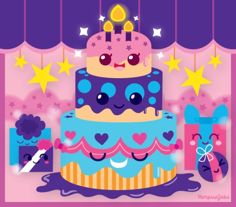birthday_cake_lovers_2_by_vampirejaku-d5gx2y3