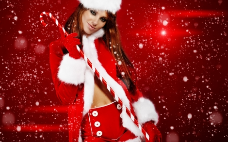 Christmas-girls-santa-girl-2012-wallpaper