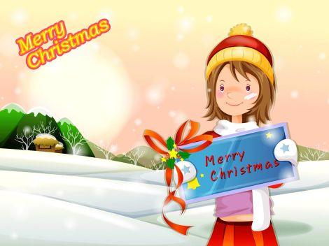 feliz-natal-menina-merry xmas girl