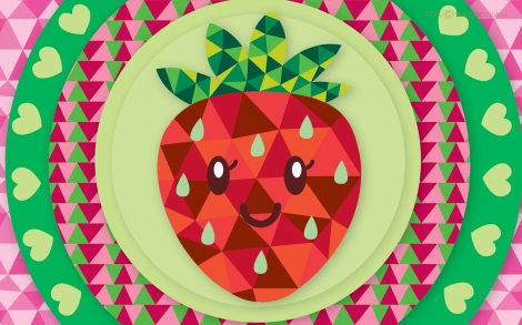 geometric_strawberry_wallpaper_by_vampirejaku-d522vh7