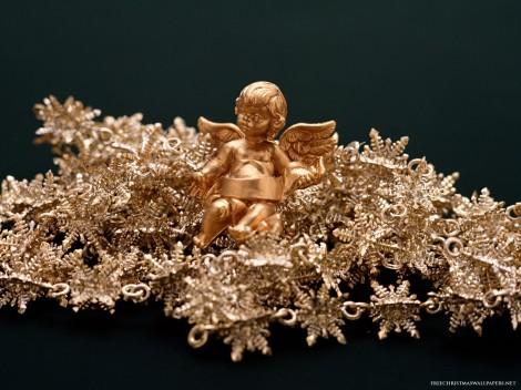 Gold-Christmas-Angel-420297