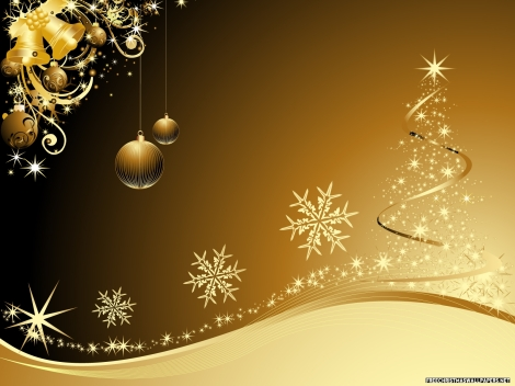Golden-Christmas-932910
