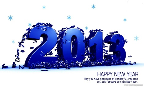 Happy New Year 2013 2