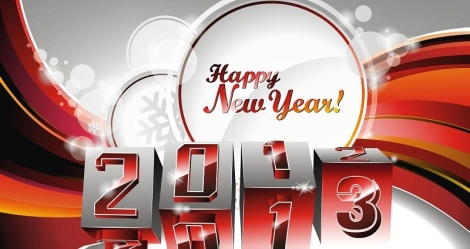 happy new year 2013a