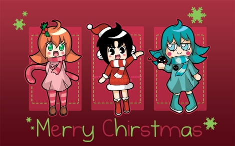 Holiday_Girls_Wallpaper_by_VampireJaku