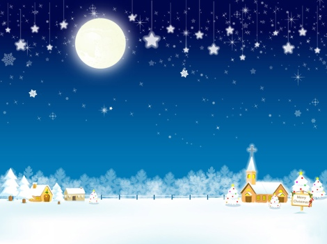 Merry-Christmas-night-wallpaper