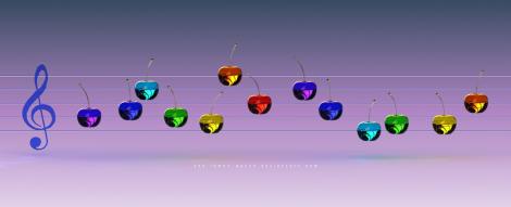 Music_Rainbow_Cherries_by_THE_LEMON_WATCH