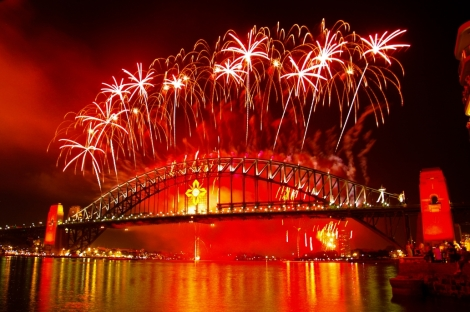 new year images bridge