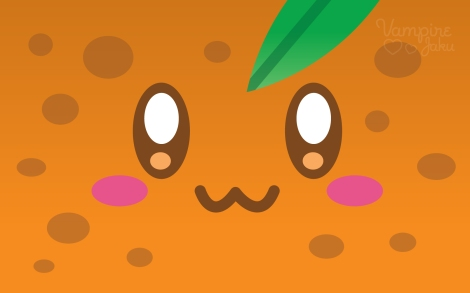Orange_Face_Luvs_U_Wallpaper_by_VampireJaku