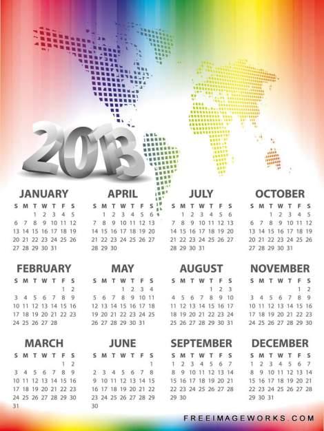 Vector_Calendar_2013_107312447