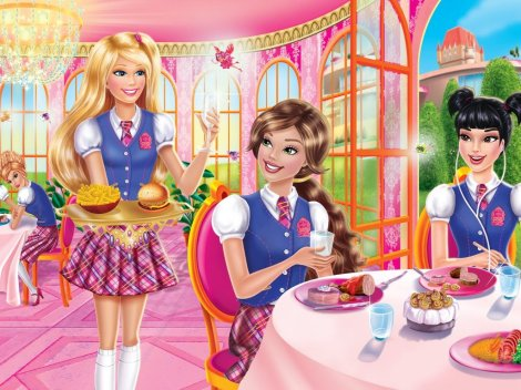 barbie-princess-charm-school-barbie.escola.de.princesas.comida