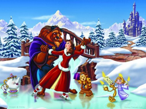 beauty-and-the-beast-xmas.a.bela.e.a.fera.natal