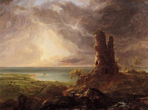 cole-romantic-landscape-with-ruined-tower