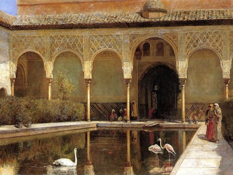 edwin-lord-weeks-a-court-in-the-alhambra-in-the-time