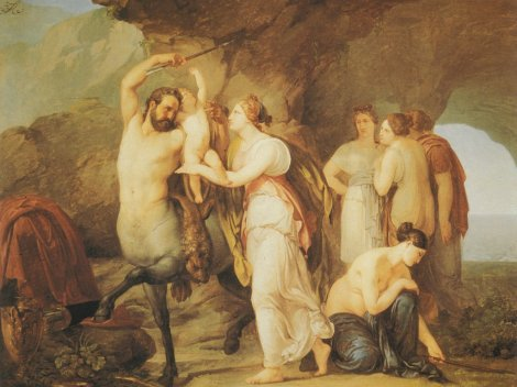 francesco-hayez-the-education-of-achilles
