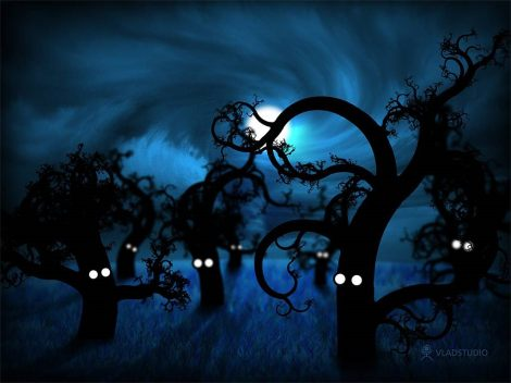 full-moon-in-the-midnight-forest