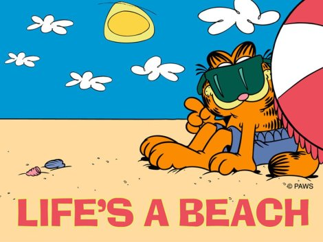 garfield-life-is-a-beach
