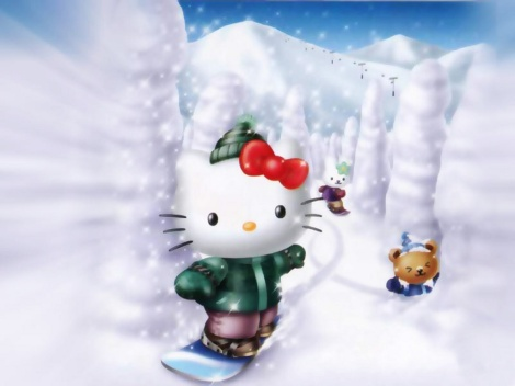 hello-kitty-snow
