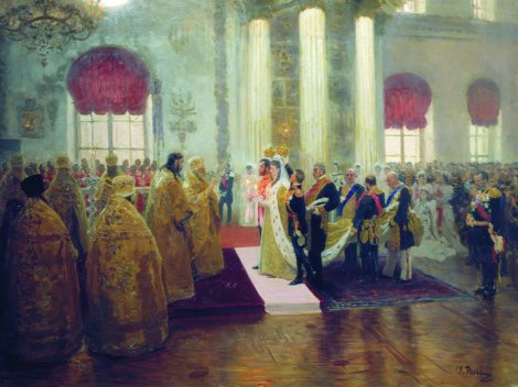 ilya-repin-wedding-of-nicholas-ii-and-grand-duchess