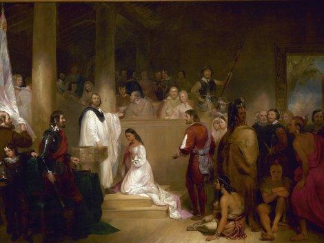 john-gadsby-chapman-baptism-of-pocahontas