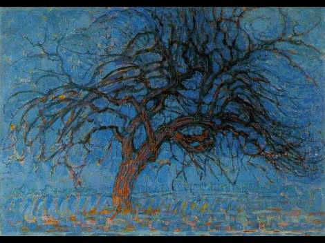 mondrian-red-tree