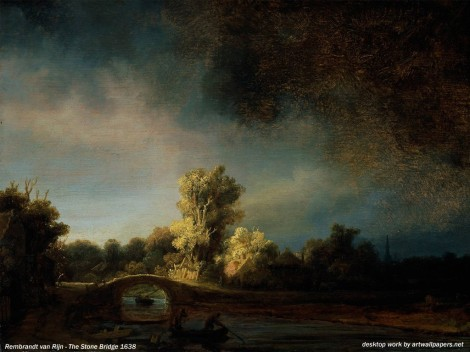 rembrandt-the-stone-bridge