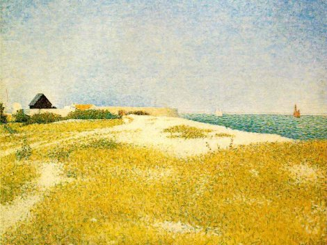 seurat-view-of-fort-samson-grandcamp
