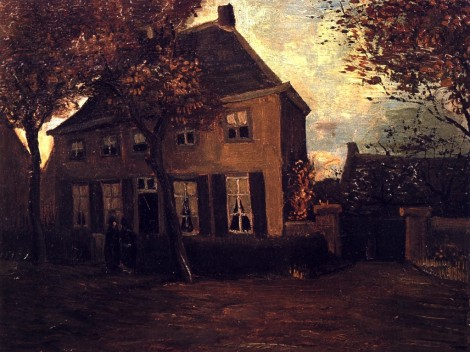 van-gogh-the-vicarage-at-nuenen