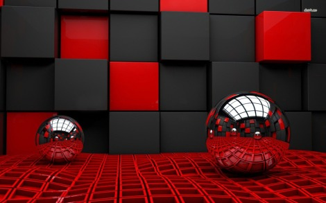11246-metallic-spheres-reflacting-cube-room-1680x1050-3d-wallpaper