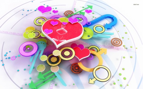 19-colorful-hearts-and-shapes-1680x1050-3d-wallpaper