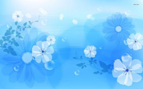 6215-blue-flowers-1680x1050-vector-wallpaper