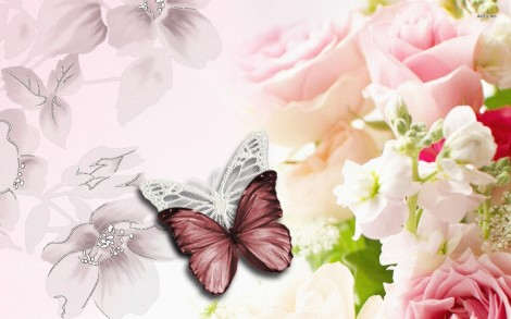 7284-flowers-and-butterflies-1680x1050-digital-art-wallpaper