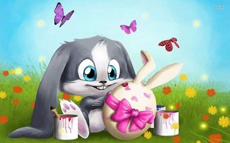 7336-easter-bunny-1680x1050-holiday-wallpaper