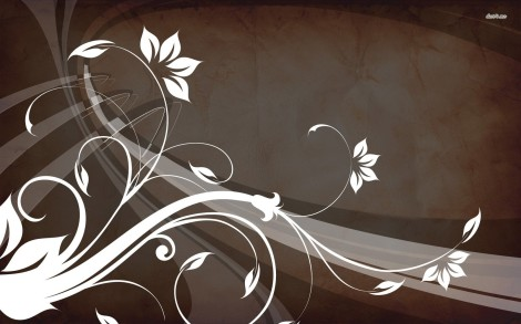 7437-flowers-and-curves-1680x1050-vector-wallpaper