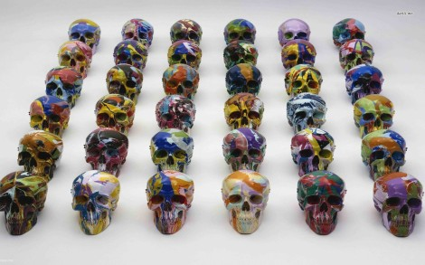 9564-painted-skulls-1680x1050-artistic-wallpaper