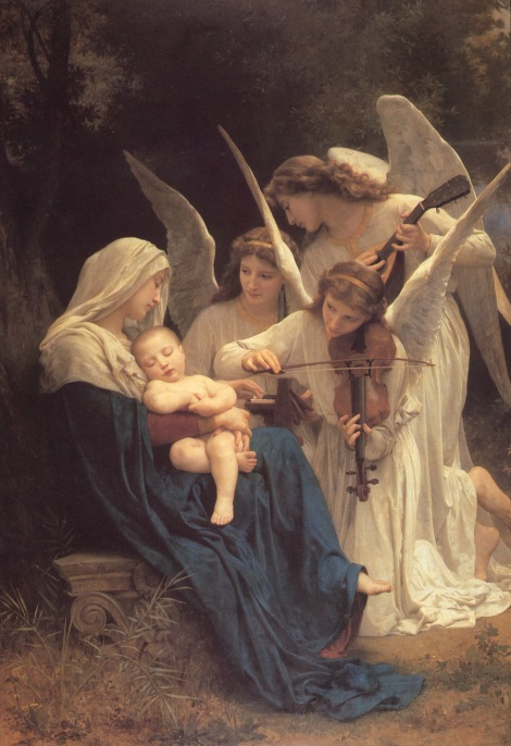bouguereau_william_the_virgin_with_angels