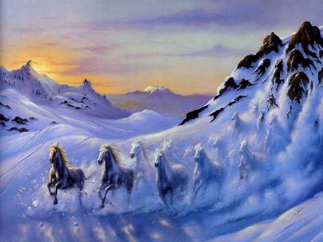 cavalos.de.neve