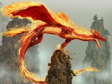 dragon.flecha-del-fuego