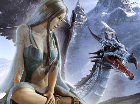 fantasy--elfe-and-dragon_355-684850