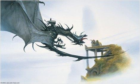 John Howe LOTR Painting